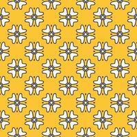 Abstract pattern flower Vector illustration