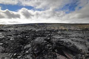 Lava on the Chain of Craters Road, Big Island,Hawaii photo