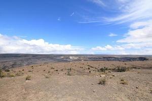 Volcán Kilauea en la gran isla de Hawaii. foto
