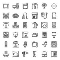 home appliances icon vector