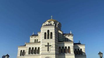 St. Vladimir's Cathedral in Chersonesos, Sevastopol. video