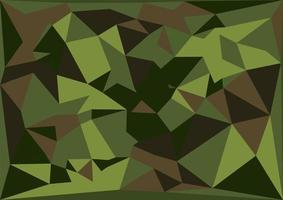 Camouflage triangle pattern. Vector grunge illustration. Military
