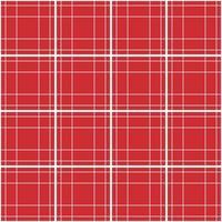 Bright red tartan seamless pattern. vector illustration