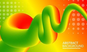 Modern Abstract Colorful Background with Fluid Shapes vector