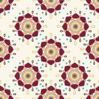 abstract Mandala background seamless pattern vector