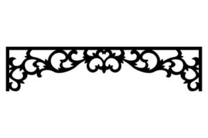 engraving ornaments for interior design, doors and windows vector