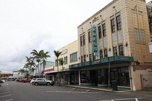 Hilo, Hawaii, USA, 2021 - View of a building in the city photo