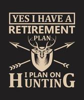 Yes i have a retirement plan vector