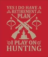 Yes i do have a retirement plan vector