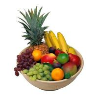 A collection of nutritious fresh vegetables and fruits photo