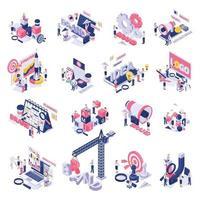 Branding Concept Symbols Icons Vector Illustration