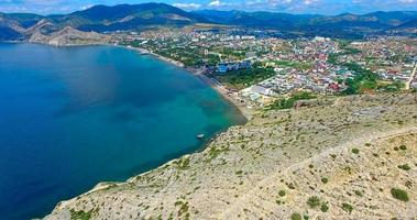 Aerial view of the surroundings of Walleye. Crimea photo
