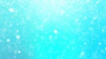 snow background particles as bokeh light  Beautiful seamless loop. video
