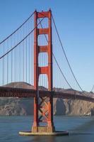 Golden Gate detail, San Francisco photo