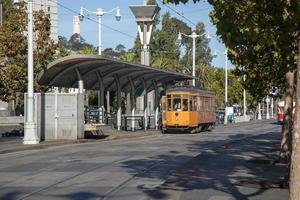 Maritime Avenue with Trams in San Francisco photo
