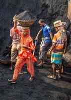 Amen Bazar, Dhaka, Bangladesh, 2021 - People working hard photo