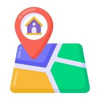 Home and Property Location vector