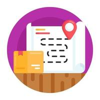 Logistic Route address vector