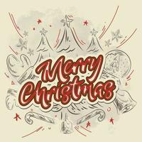 Christmas design doodle elements vector