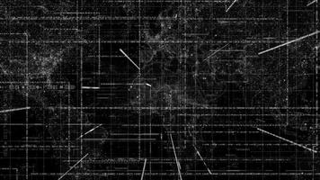 Weltkarte des digitalen Geschäftsnetzwerks video