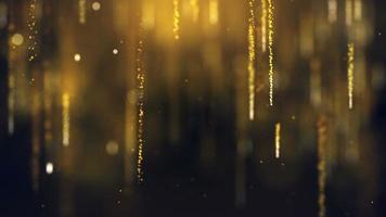 abstrait de particules de poussière video