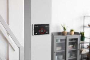 The smart home tablet wall photo