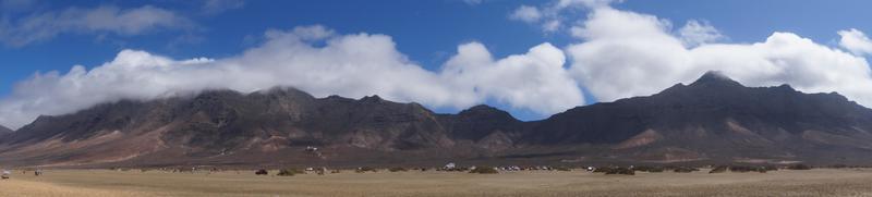 Sendero de la costa de Cofete Fuerteventura foto