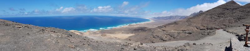 Walking trail Cofete coastline Fuerteventura photo