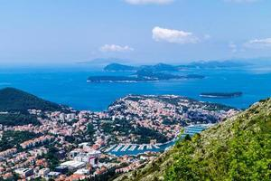Walking Trail from the top of Mount Sdr to Dubrovnik old town photo