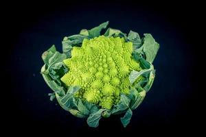 romanesco la coliflor verde italiana foto