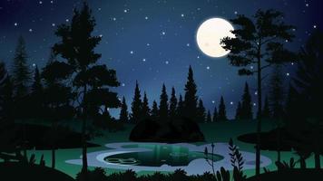 Little Swamp In The Full Of Stars Night video