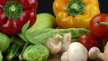 Mix of healthy Organic Vegetable photo