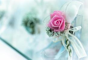 Colorful Wedding Bouquet Beautiful Romantic Flowers photo