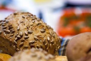 Delicious Fresh Bread Food Concept photo