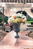 hermoso ramo de flores foto