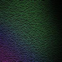 patrón de vector de color rosa oscuro, verde con curvas.