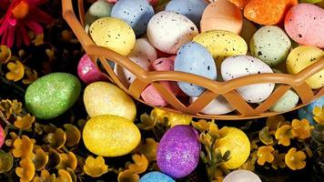 Colorful Traditional Easter Paschal Eggs photo