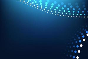 Abstract blue gradient geometric background. Vector Illustration