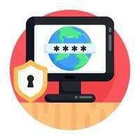 Online Folder Security vector