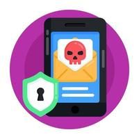 Email Threat and Messages vector