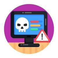 Cyber Threat and Error vector