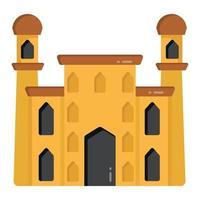 lugar de culto y edificio vector