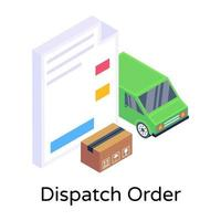 Dispatch Order Assignments vector