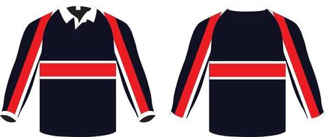 Long Sleeve Knitted Leavers Jerseys vector