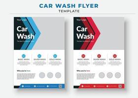 Car Wash Flyer Templates, Car sale flyer vector