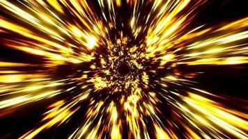 Glowing Burning Light Streak Effect Loop video