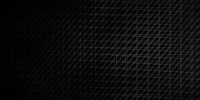 Dark Gray vector background with lines.