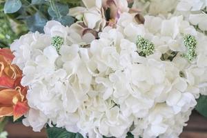 hermoso ramo de flores para el fondo foto