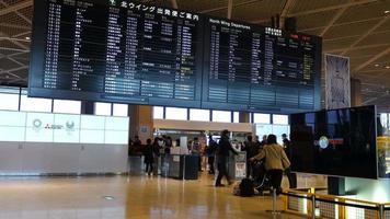 Lapso de tiempo del aeropuerto de Narita en Japón video