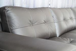 Modern sofa interior decoration in living room photo